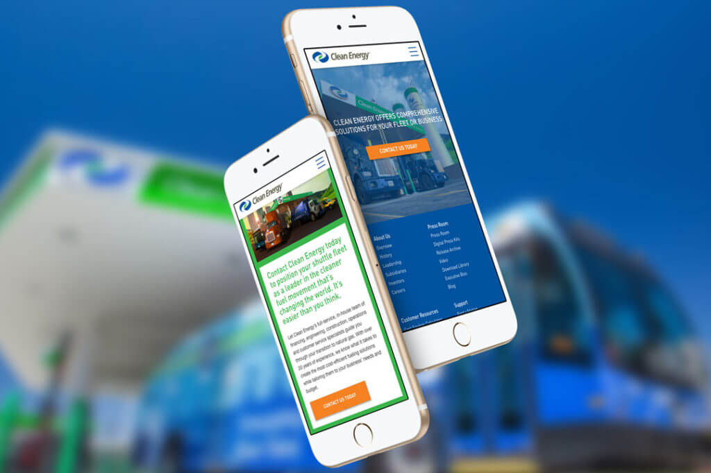 Clean Energy Fuels Mobile Experience