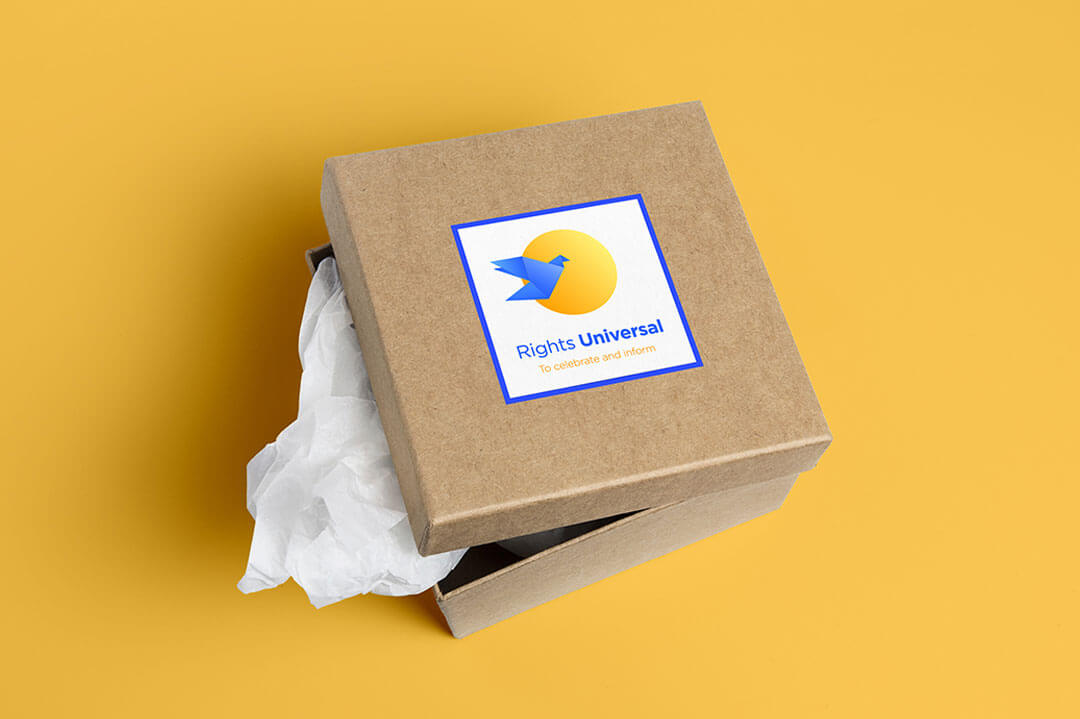 Rights Universal Packaging Concept Brand Identity